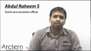 Abdul Raheem S - Senior Procurement Officer
