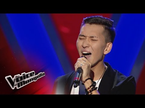MunkhErdeneG  All I want  Blind Audition The Voice of Mongolia 2018