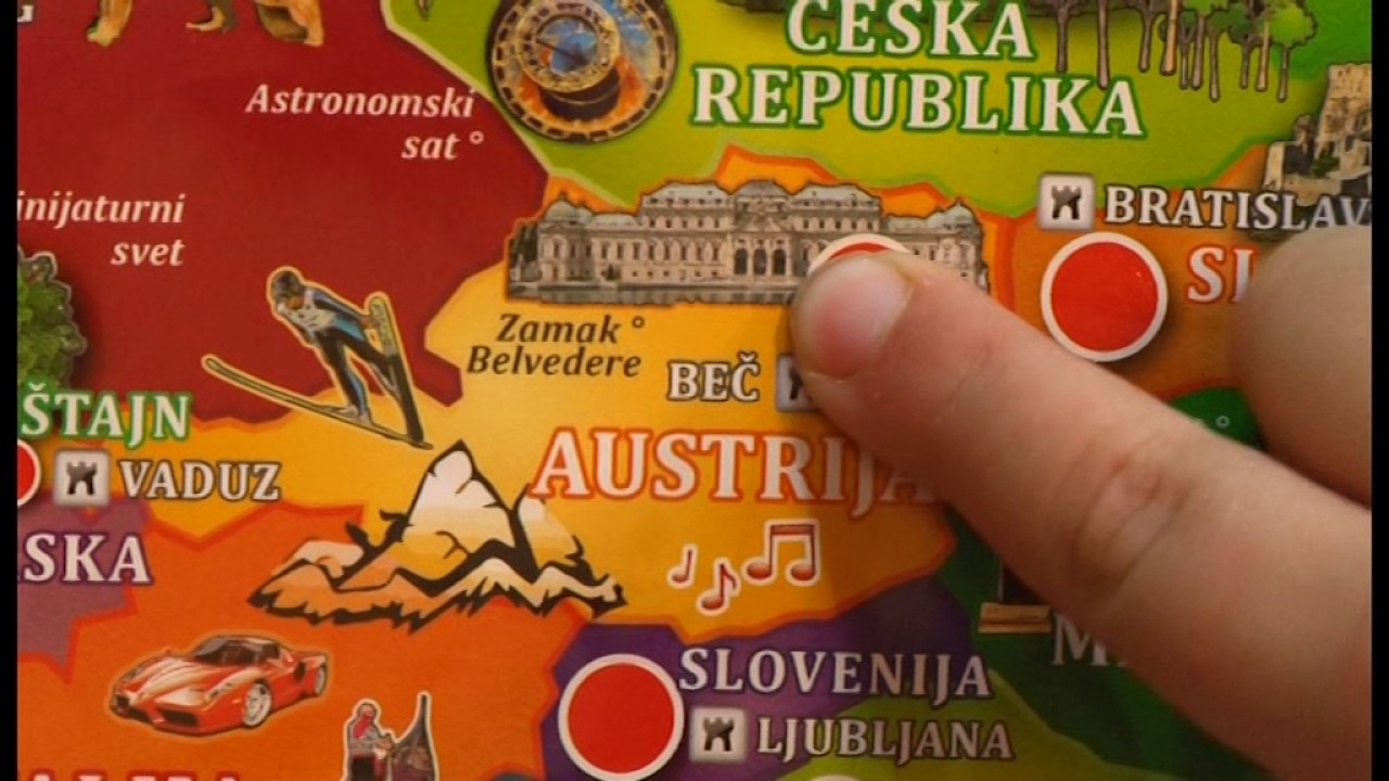 Pertini Toys Mapa Evrope Youtube