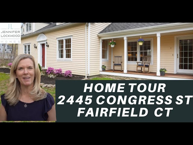 Home for Sale Fairfield CT | 2433 Congress St | Fairfield CT Real Estate
