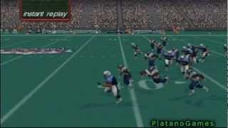 72 Yard TD Run With Eddie George! NFL Quarterback Club 2001 - Dreamcast - HD
