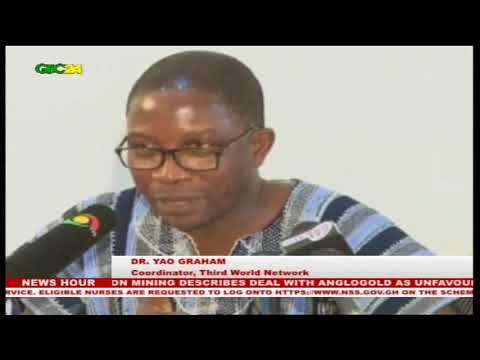 Accra: Coalition on mining describes deal with Anglogold as unfavourable