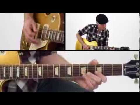 30 Blues Grooves - #18 Seeing You Go - Guitar Lesson - Jeff McErlain
