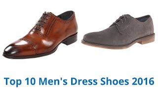 10 Best Men's Dress Shoes 2016 - YouTube