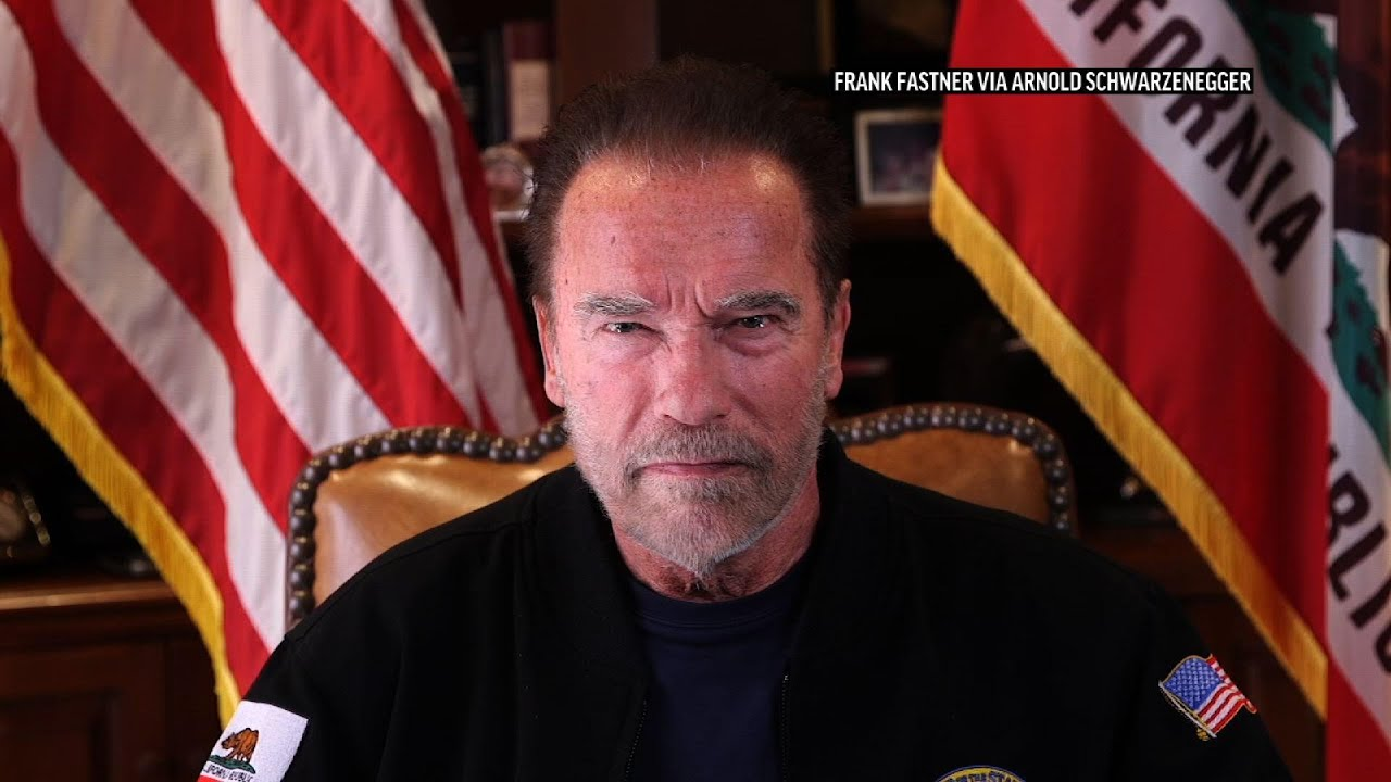 Arnold Schwarzenegger compares US Capitol mob to Nazis