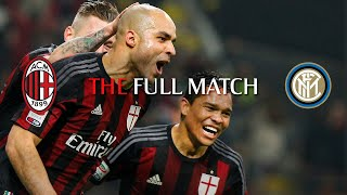Full Match | AC Milan 3-0 Inter | Serie A TIM 2015/16
