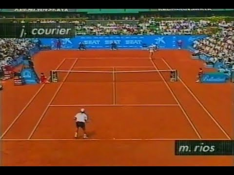 Marcelo Rios vs Jim Courier - Barcelona 1996 SF Highlights