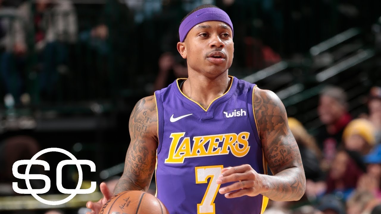 more photos 200d1 f9bc6 Isaiah Thomas' Lakers debut gives team what they needed | SportsCenter |  ESPN