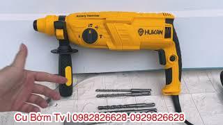 Máy khoan bê tông điện 3 chức năng Hukan HK -2603 quá ngon, giá quá rẻ