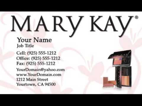 Mary kay business cards now available at printerbees youtube mary kay business cards now available at printerbees reheart Choice Image