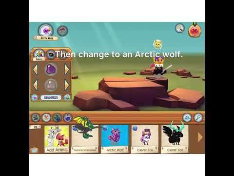 FULL GUIDE ON HOW TO GET IN THE SECRET BUILDING IN ANIMAL JAM PLAY WILD!