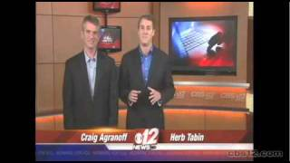 Craig Agranoff and Herbert Tabin talk to CBS 12 about AT&T Family Map App