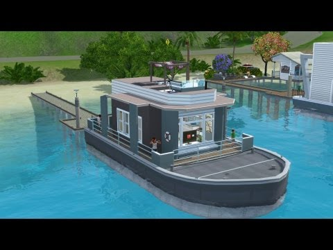 The Sims 3 House Boat Building - SS Titanic | Speed build
