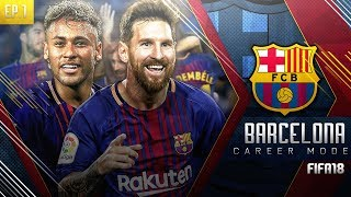 FIFA 18 Barcelona Career Mode - EP1 - Neymar Returns To Barcelona!! Record Breaking £200m Signing!!