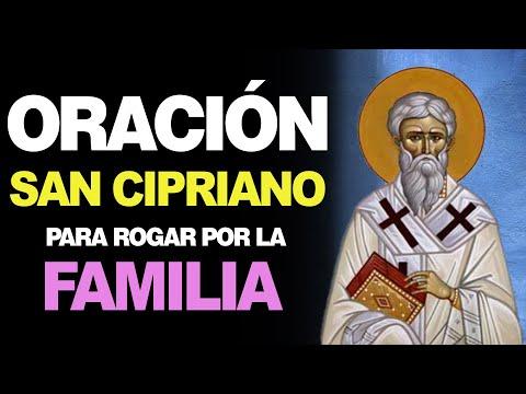 🙏 Oración a San Cipriano de Antioquia para ROGAR POR LOS SERES QUERIDOS 👪