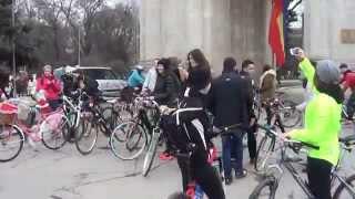 Fetele pe bicilete @finish