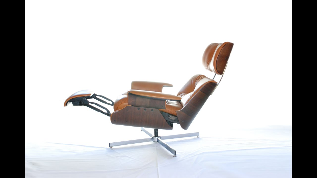Eames Chair Sessel Plycraft Recliner Lounge Sessel George Mulhauser