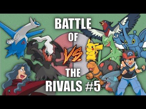 Battle of the Rivals #5 (Ash vs Tobias) - Pokemon Battle Revolution (1080p 60fps)