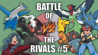 Battle of the Rivals #5 (Ash vs Tobias) - Pokemon Battle Revolution (1080p 60fps)