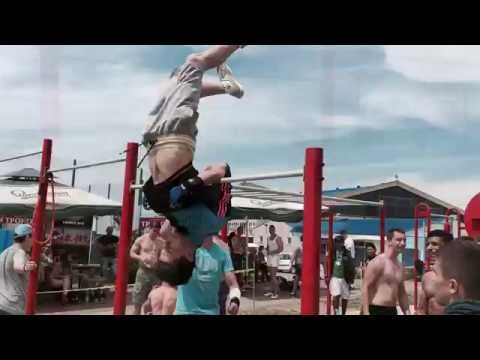 BarBeast015 at competition in Loznica (05.06.2016.)