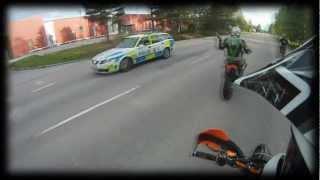 car vs sumo 1000 whp toyota supra cops