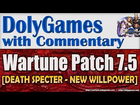 Wartune Patch 7.5 - DEATH SPECTER Review NEW WILLPOWER | COSMOS DolyGames