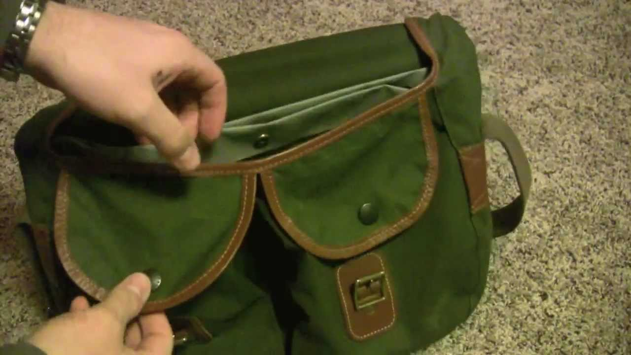 Barbour Highland Thornproof Shoulder Bag Waxed Cotton