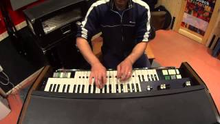 Hammond X5 + Leslie Allsound demo