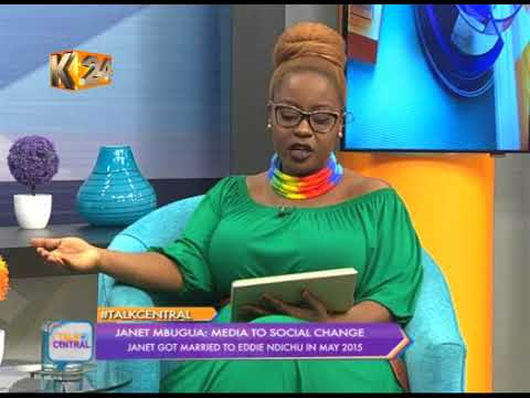 K24 Talk Central: Janet Mbugua (Part 1/4)
