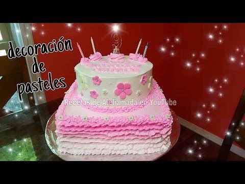 Decoracion de pasteles ideas sencillas recetas de aleliamada youtube - Adornos para fotos gratis ...