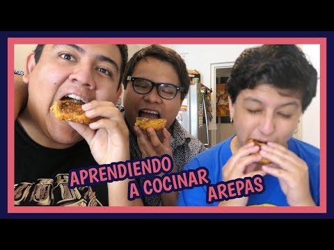 APRENDIENDO A COCINAR AREPAS - Ariana Bolo Arce
