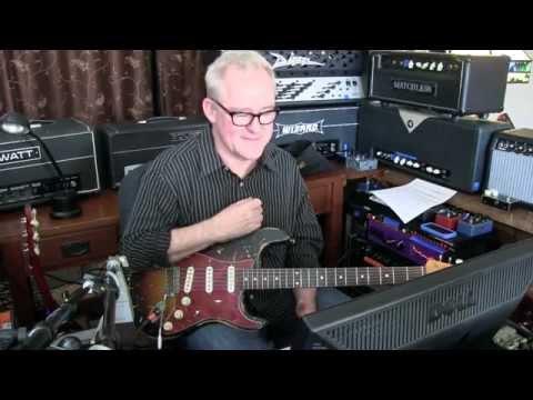 Ain't No Sunshine Cover | Guitar Solo | Falcon Rhodes | Recording Session | Tim Pierce