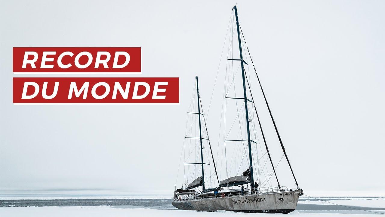 RECORD DU MONDE : LE VOILIER LE PLUS AU NORD DANS L'ARCTIQUE