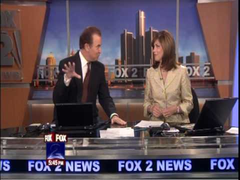 Weatherman Rich Luterman swears on live TV - AUG 21 2009