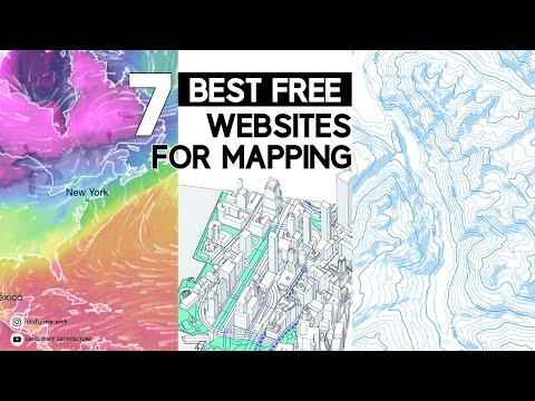 BEST FREE websites for mapping | Free base map files for site analysis