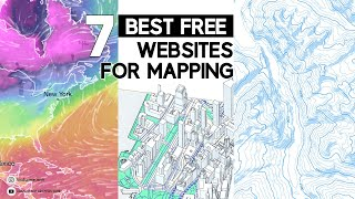 BEST FREE websites for mapping | Free base map files for site analysis screenshot 1