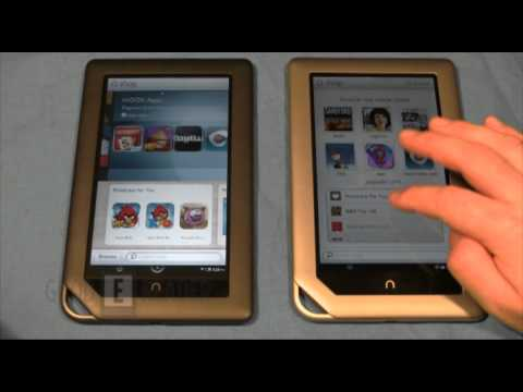 Barnes and Noble Nook Tablet and Nook Color Comparison