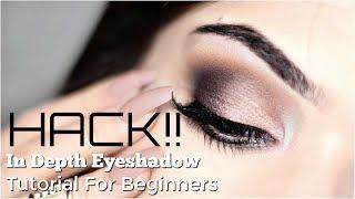 Beginner Eye Makeup HACK | Eye Makeup Tutorial For Beginners