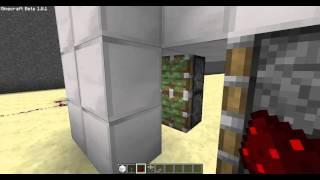 Puerta Secreta con Pistones - Minecraft Tutorial