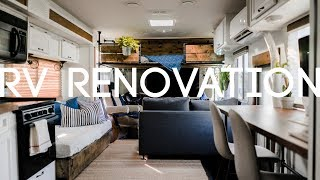 How Much Did It Cost Us to Renovate Our RV?