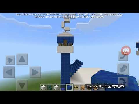 Minecraft 1. Bölüm: Yaptığım Camileri Tanıtıyorum.