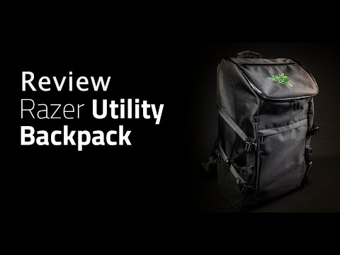 Review : Razer Utility Backpack