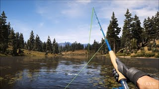 Far Cry 5 - Fishing - Open World Free Roam Gameplay (PC HD) [1080p60FPS]