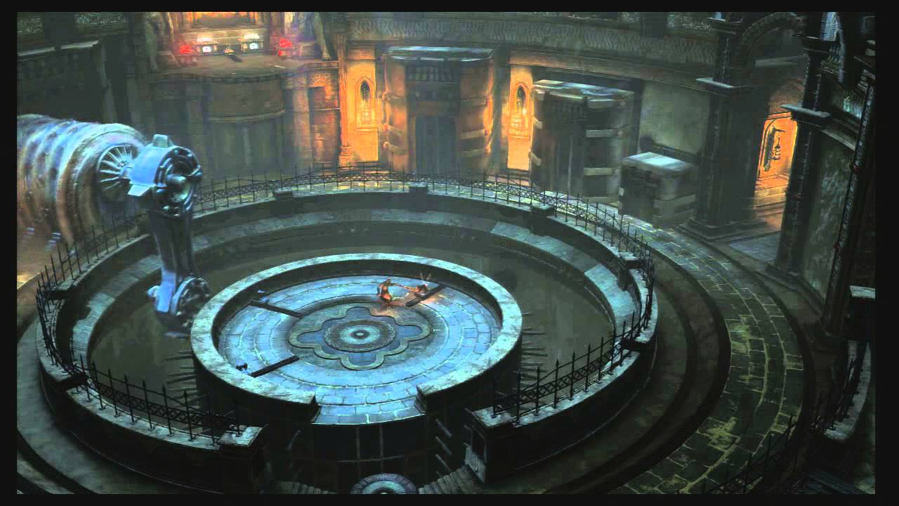god of war ascension spinning wheel puzzle guide youtube