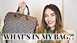 WHAT'S IN MY BAG | LOUIS VUITTON SPEEDY 30 | Shea Whitney