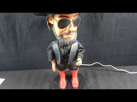 HANK WILLIAMS DANCING DOLL PRODUCT REVIEW & TEST 4 EBAY
