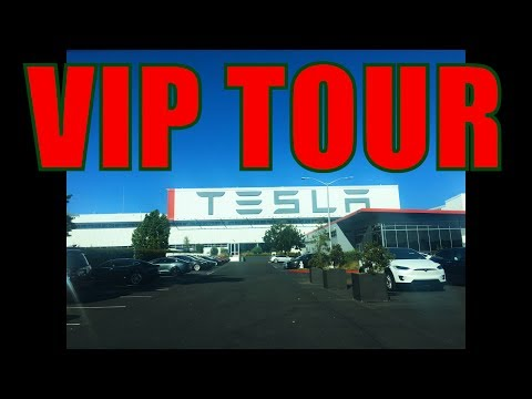 Tesla VIP Factory Tour Event Recap and Coverage