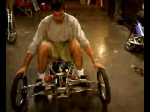 leaning gas powered trike