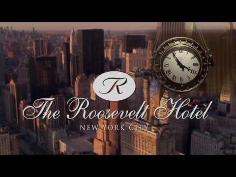 The Roosevelt Hotel, New York, USA - Unravel Travel TV