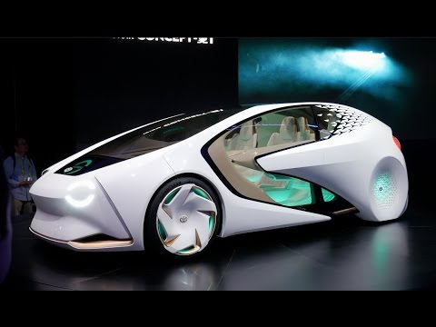 The Coolest Cars of CES 2017!